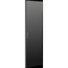 Дверь металлическая для шкафа LINEA N 42U 600 мм черная | LN05-42U6X-DM | ITK