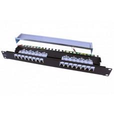 Патч-панель PP3-19-16-8P8C-C6-SH-110D 19