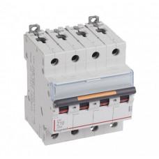 Выключатель автоматический четырехполюсный DX3 10А Z 25кА | 409934 | Legrand