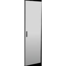 Дверь металлическая для шкафа LINEA N 42U 600 мм серая | LN35-42U6X-DM | ITK