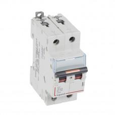 Выключатель автоматический двухполюсный DX3 10А Z 25кА | 409912 | Legrand