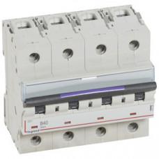 Выключатель автоматический четырехполюсный DX3 40А B 50кА (6 мод) | 410126 | Legrand