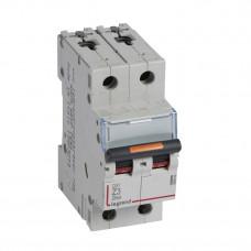 Выключатель автоматический двухполюсный DX3 3А Z 25кА | 409909 | Legrand