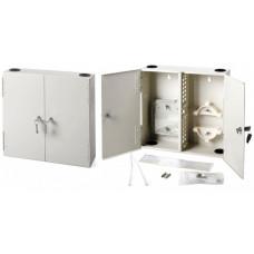 Бокс оптический FO-WALLBOX-24SC настенный на 24 SC со сплайс-пластиной (без пигтейлов и проходных адаптеров) | 23396 | Hyperline
