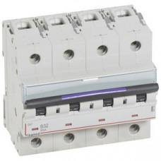Выключатель автоматический четырехполюсный DX3 32А B 50кА (6 мод) | 410125 | Legrand