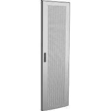 Дверь перфорированная для шкафа LINEA N 18U 600 мм серая | LN35-18U6X-DP | ITK