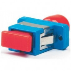 Адаптер проходной оптический FA-S11Z-FC/SC-N/RD-SL FC-SC, SM/MM, simplex, корпус металл, красные колпачки | 394264 | Hyperline
