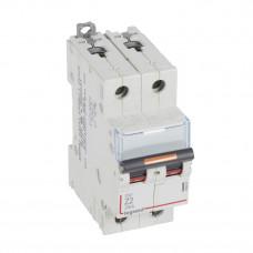 Выключатель автоматический двухполюсный DX3 2А Z 25кА | 409908 | Legrand