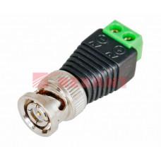 Разъем штекер BNC с клеммной колодкой | 05-3076 | REXANT