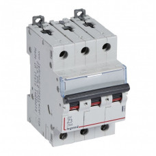 Выключатель автоматический трехполюсный DX3 3А Z 25кА | 409920 | Legrand