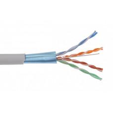 Каб. вп F/UTP, кат.5E 4х2х24AWG solid, LDPE, 305м, чер. | LC3-C5E04-339 | ITK