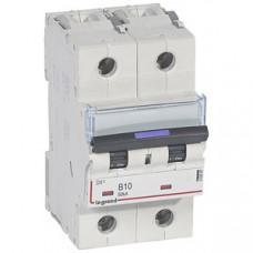 Выключатель автоматический двухполюсный DX3 10А B 50кА (3 мод) | 410097 | Legrand