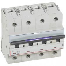 Выключатель автоматический четырехполюсный DX3 10А B 50кА (6 мод) | 410121 | Legrand