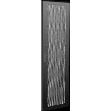 Дверь перфорированная для шкафа LINEA N 38U 600 мм черная | LN05-38U6X-DP | ITK