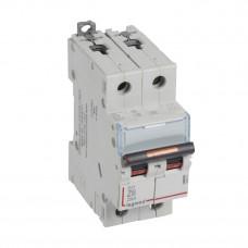 Выключатель автоматический двухполюсный DX3 6А Z 25кА | 409911 | Legrand