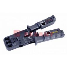 Кримпер-тестер кабеля 8p8c/6P6C/6P4C   12-3400   REXANT