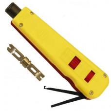 Инструмент HT-3133TB для заделки витой пары (в комплекте нож HT-13TB) | 53467 | Hyperline