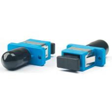 Адаптер проходной оптический FA-S11Z-SC/ST-N/BK-SL SC-ST, SM/MM, simplex, корпус металл, черные колпачки | 253090 | Hyperline