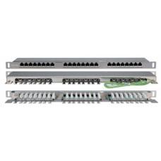 Патч-панель PPHD-19-24-8P8C-C5E-SH-110D высокой плотности 19