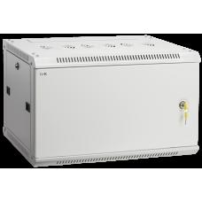 Шкаф LINEA W 6U 600x450 мм дверь металл в сборе, RAL7035 | LWR3-06U64-M | ITK