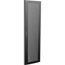 Дверь перфорированная для шкафа LINEA N 47U 600 мм черная | LN05-47U6X-DP | ITK