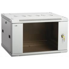 Шкаф LINEA W 9U 600x600 мм дверь стекло, RAL7035 | LWR3-09U66-GF | ITK