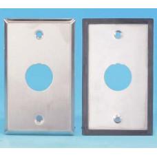 Панель лицевая FP-IE-U-1-SL для 1-го промышленного модуля, IP67, нержавеющая сталь | 46599 | Hyperline
