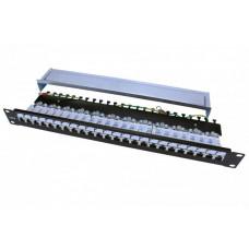 Патч-панель PP3-19-24-8P8C-C6-SH-110D 19
