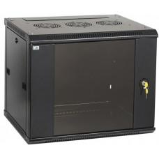 Шкаф LINEA W 6U 600x450 мм дверь стекло, RAL9005 | LWR5-06U64-GF | ITK