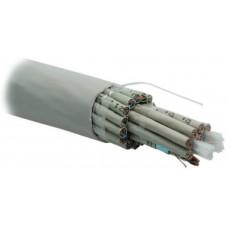 Кабель витая пара FUTP100-C5E-S24-IN-PVC-GY (FTP100-C5e-SOLID-INDOOR)экран.F/UTP,кат.5e,одн.(solid),PVC,-20°С-+60°С,сер.   19485   Hyperline