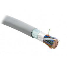 Кабель витая пара FUTP100-C3-S24-IN-PVC-GY (FTP100-C3-SOLID-INDOOR) экр.F/UTP,к3,100п(24AWG),одн(solid),э-ф,PVC,-20°C-+50°C,сер.   19482   Hyperline