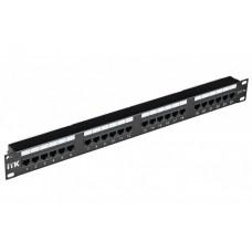 Патч-панель 1U кат.5Е STP 24 порта (Dual IDC) экран. | PP24-1UC5ES-D05 | ITK
