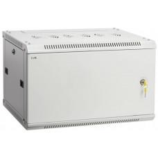 Шкаф LINEA W 6U 600x450 мм дверь металл, RAL7035 | LWR3-06U64-MF | ITK