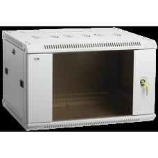 Шкаф LINEA W 18U 600x450 мм дверь стекло, RAL7035 | LWR3-18U64-GF | ITK