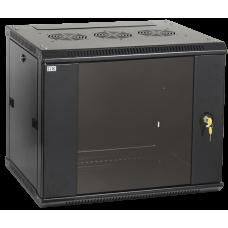 Шкаф LINEA W 15U 600x450 мм дверь стекло, RAL9005 | LWR5-15U64-GF | ITK