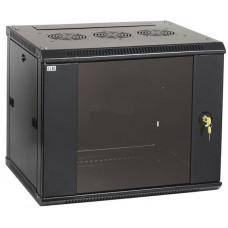 Шкаф LINEA W 12U 600x600 мм дверь стекло, RAL9005 | LWR5-12U66-GF | ITK