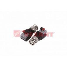 Разъем штекер BNC с быстрозажимной колодкой (блистер) | 05-3076-2 | REXANT