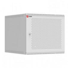 Шкаф телекоммуникационный настенный 9U (600х650) дверь перфорированная, Astra A серия EKF Basic | ITB9P650 | EKF