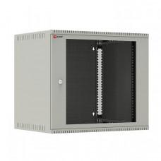 Шкаф телекоммуникационный настенный 9U (600х450) дверь стекло, Astra E серия EKF PROxima | ITB9G450E | EKF