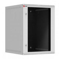 Шкаф телекоммуникационный настенный 15U (600х650) дверь стекло, Astra A серия EKF Basic | ITB15G650 | EKF