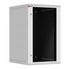 Шкаф телекоммуникационный настенный 18U (600х650) дверь стекло, Astra A серия EKF Basic | ITB18G650 | EKF