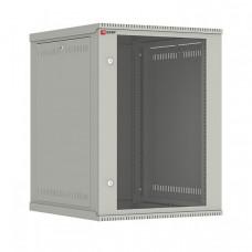 Шкаф телекоммуникационный настенный разборный 15U (600х650) дверь стекло, Astra E серия EKF PROxima | ITB15G650DE | EKF