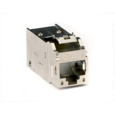 Модуль Keystone RJ45 CAT5E экранированный, серебристый | RNK5EFSL | DKC