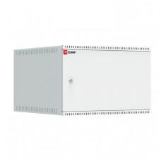 Шкаф телекоммуникационный настенный 6U (600х650) дверь металл, Astra A серия EKF Basic | ITB6M650 | EKF