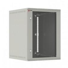 Шкаф телекоммуникационный настенный 15U (600х650) дверь стекло, Astra E серия EKF PROxima | ITB15G650E | EKF