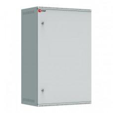 Шкаф телекоммуникационный настенный 18U (600х350) дверь стекло, Astra A серия EKF Basic | ITB18G350 | EKF