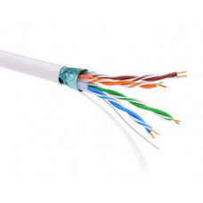 Информационный кабель экранированый F/UTP 4х2 CAT5E, PVC, белый | RN5EFUPV3WH | DKC