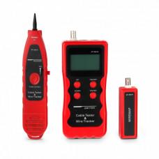 Тестер HL-868 Кабельный для витой пары, коаксиала, LCD дисплей, разъемы RJ-11, RJ-45, BNC, USB, измерение длины | 227450 | Hyperline