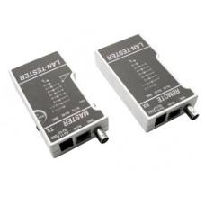 Тестер HL-NCT1 LT-100 для витой пары, коаксиала, телефона (кож.зам.чехол) | 16382 | Hyperline