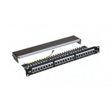 Патч-панель 1U кат.6 UTP 24 порта (Dual IDC) | PP24-1UC6U-D05 | ITK
